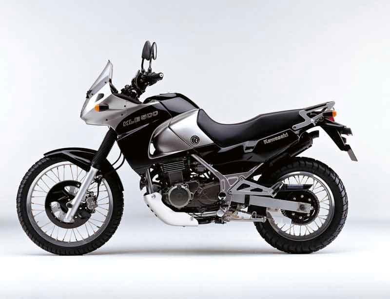 Honda NX 600 vs Kawasaki KLE 500 vs Yamaha XT 600